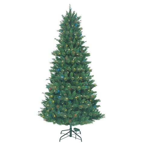 holiday showtime 7 5 crystal pine multi function tree