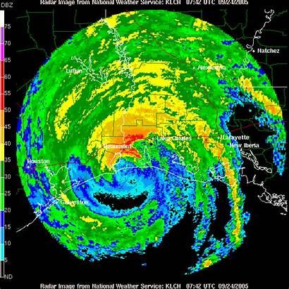 Radar Hurricane Rita Weather 2005 Satellite Loop