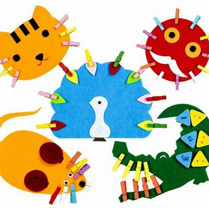Kindergarten Teaching Materials Clip Preschool Toys Cartoon