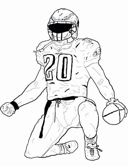 49ers Drawing Coloring Nfl Football Pages Printable