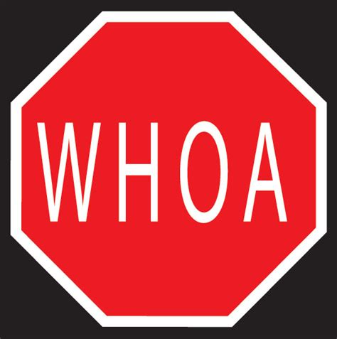 Product Details Whoa Stop Sign Signs T Shop The