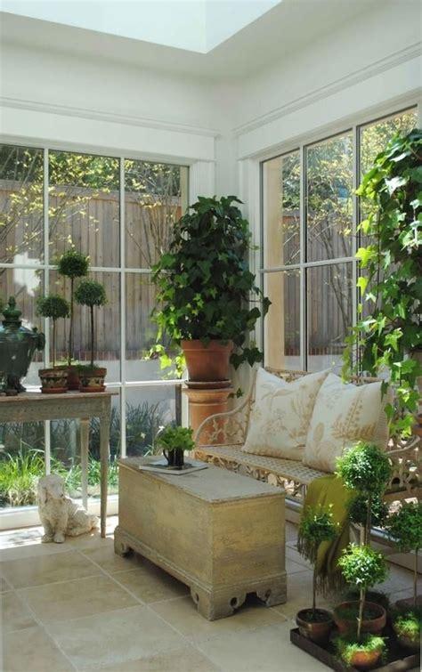 wintergarten einrichtung englischer stil romantisch vintage m 246 bel efeu topf winterg 228 rten