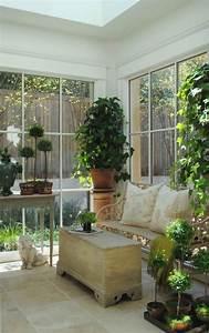 Wintergarten Einrichtung Englischer Stil Romantisch