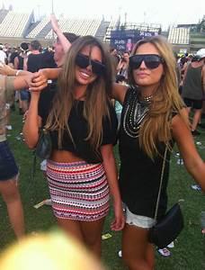 concert, fashion, festival, friends, girls , pretty ...