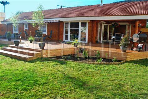 plan de maison plain pied 2 chambres et garage maison bois louisa 140 maison bois greenlife