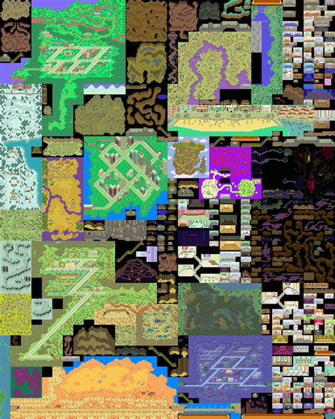 dungeon siege 2 starmen 2 earthbound maps