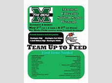 """""""Team Up to Feed"""" Food drive May 2 & 3 – Cabell County"""