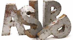 36quot 3d metal letters eclectic artwork toronto by With 3d decorative letters