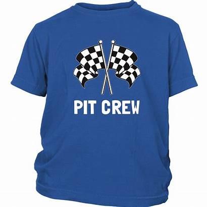 Pit Crew Racing Themed Shirts Parents Bornmay