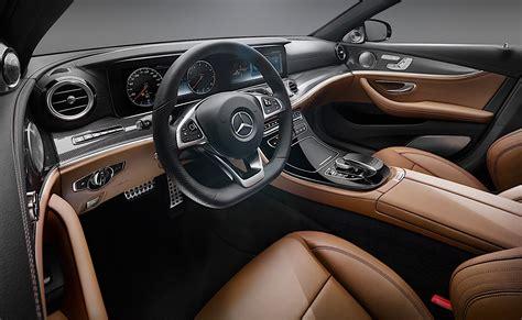 2017 Mercedes Benz E Class Interior Officially Unveiled