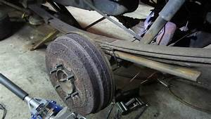 Replacing A Single Broken Leaf Spring On The Car  Truck