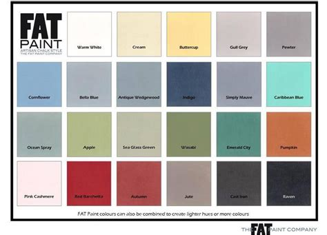 52 Best Fat Paint Colours Images On Pinterest