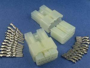10 Pins Electrical Wire Connector Terminal Socket Plug