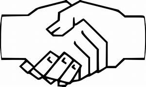 Handshake Clip Art at Clker.com - vector clip art online ...