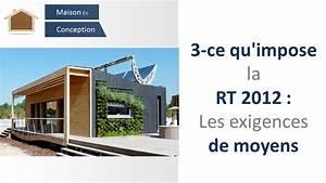 Rt 2012 Obligatoire : rt2012 3 obligations rt2012 les exigences de moyens ~ Mglfilm.com Idées de Décoration