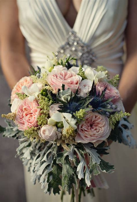 bridal bouquet recipe coral garden roses  cream