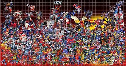 Transformers G1 Autobots 80s Poster Wallpapers Comic