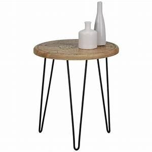 Beistelltisch Schwarz Holz : beistelltisch schwarz naturfarben online kaufen m max ~ Orissabook.com Haus und Dekorationen