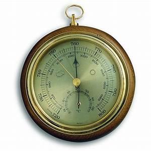 Oak Barometer 13.5cm