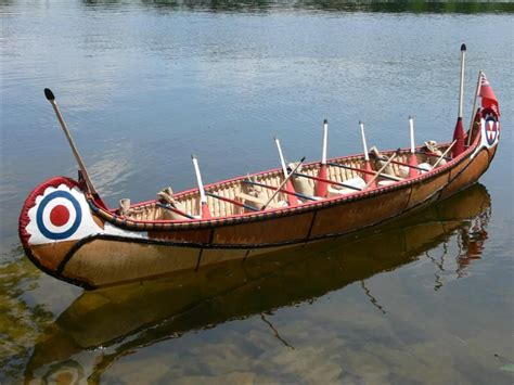 Canoes Used In The Fur Trade by One Fifth Scale Model Of A Fur Trade Canoe Build Features