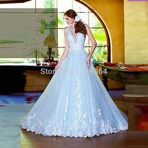 Online Buy Wholesale ice blue wedding dress from China ice ...