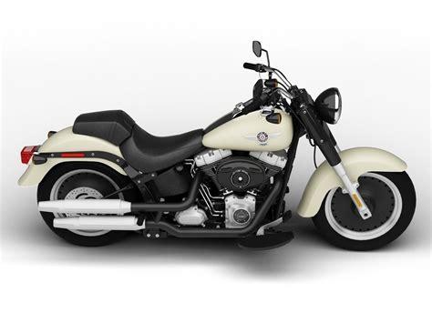 Harley-davidson Flstfb Softail Fat Boy Lo 2015 3d Model