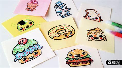 cuisine kawaii how to draw food easy and kawaii drawings by garbi