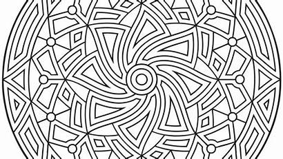 Coloring Pages Geometric Complex Pdf Tessellation Pattern