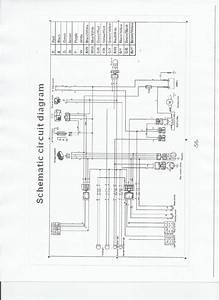 Zongshen 125cc Scooter Wiring Diagram