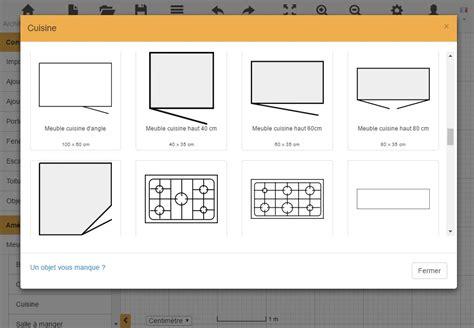 dessiner plan cuisine plan de cuisine gratuit logiciel archifacile