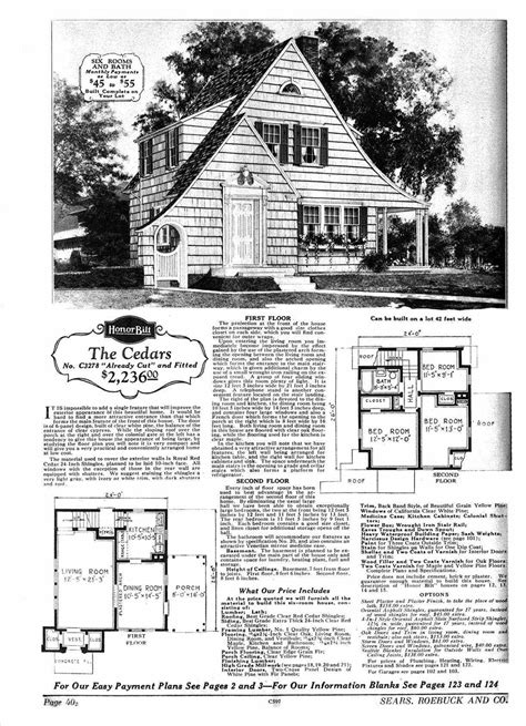 sears homes floor plans sears home fairytale cottages
