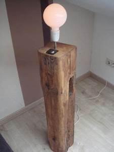 Vintage Lampen Berlin : stehlampe aus holzbalken designlampe vintage rustikal in berlin kreuzberg lampen gebraucht ~ Markanthonyermac.com Haus und Dekorationen
