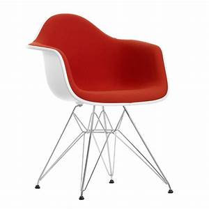 Vitra Eames Chair : vitra eames plastic armchair dar upholstered ~ A.2002-acura-tl-radio.info Haus und Dekorationen