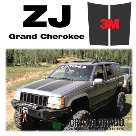 jeep grand cherokee blackout jeep grand cherokee zj hood blackout
