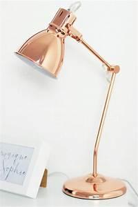 Lampe Rose Gold : 25 best ideas about ikea schreibtischlampe on pinterest schreibtischlampe kinder ikea lack ~ Teatrodelosmanantiales.com Idées de Décoration
