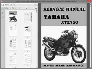 Yamaha Xtz750 Super Tenere Service Manual