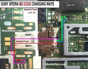 Sony Xperia M2 D2303 Charging Ways Solution Not Charging