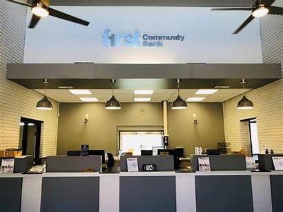 Inside Bank Branch Surgoinsville January Community Banking