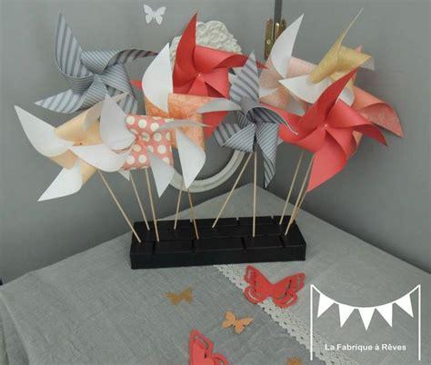chambre peche moulins à vent abricot corail pêche doré mariage