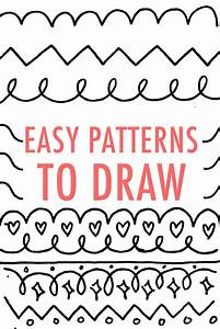 Easy Patterns to Draw: Design Your Own Pattern