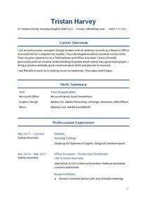 basic resume exles for students sle student resume how to write stuff org