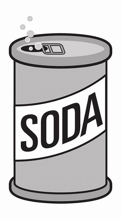 Soda Opened Clipart Svg Space