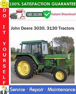John Deere 3030  3130 Tractors Service Repair Manual Pdf