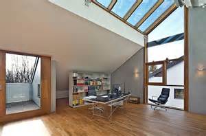 contemporary homes designs 20 trendy ideas for a home office with skylights