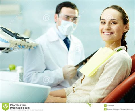 happy patient stock image image 33381081