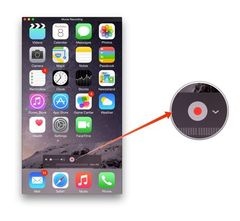 record my screen iphone how to record from your iphone onto your mac imore
