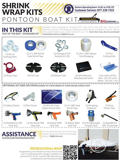 Boat Shrink Wrap by Pontoon Boat Shrink Wrapping Kit For Boats Up To 29 Ft