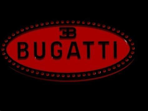 Car With Eb Logo by Bugatti Logo Free 3d Model Dwg Cgtrader
