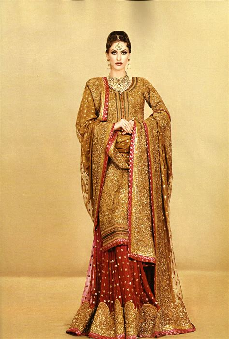 women fashion  stylish bridal gharara