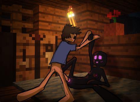 Image 1683814 Enderman Minecraft Steve Animated Qwertyas1